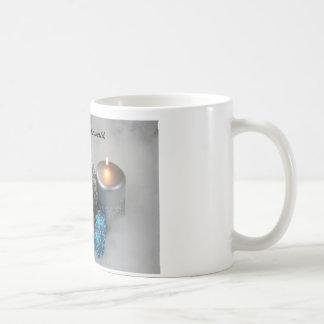 Christmas coffee mug. classic white coffee mug