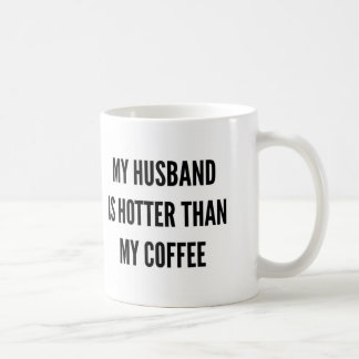 Christmas coffee my husband is hotter than coffee mug