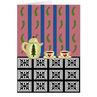 Christmas Coffee or Tea Card