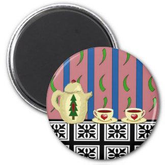 Christmas Coffee or Tea Magnet