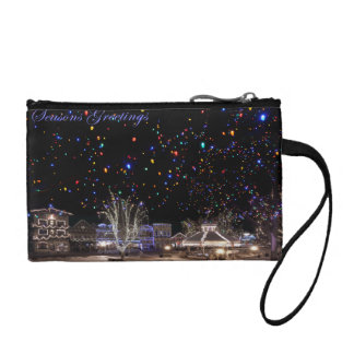 Christmas Coin Purse:  'Northern Lights' Coin Wallet
