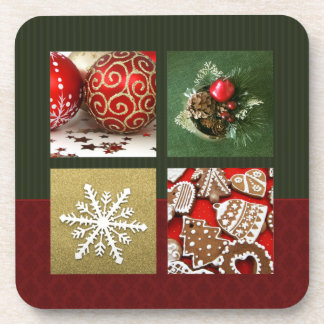 Christmas Collage coasters