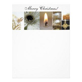 Christmas Collage Letterpaper Letterhead