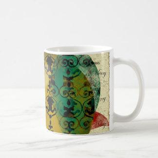 Christmas-collage mug