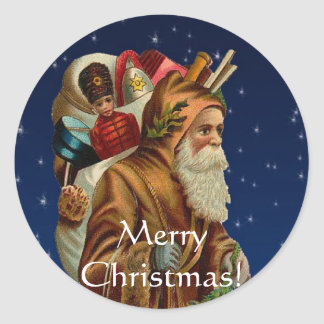 CHRISTMAS Collection Classic Round Sticker