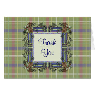 Christmas Collection Gift Thank You Note Card