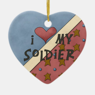 Christmas Collection I Love My Soldier Ornaments