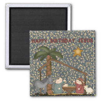 Christmas Collection Nativity Baby Jesus Magnet