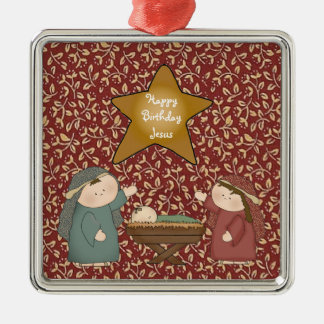 Christmas Collection Nativity Scene Star Christmas Ornaments