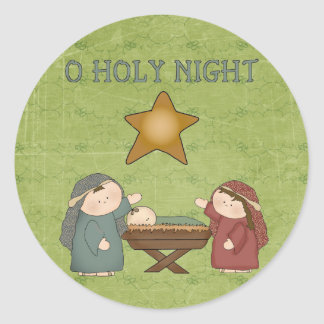 Christmas Collection O Holly Night Stickers