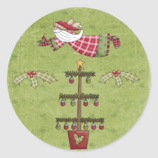 Christmas Collection Santa Angel Tree Stickers
