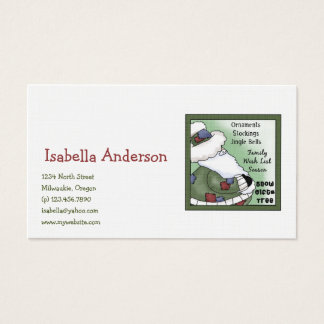 Christmas Collection · Santa List Business Card