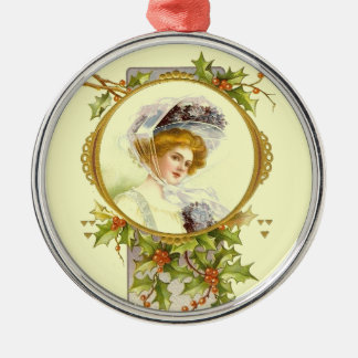 Christmas Collection Vintage Victorian Lady Christmas Ornaments