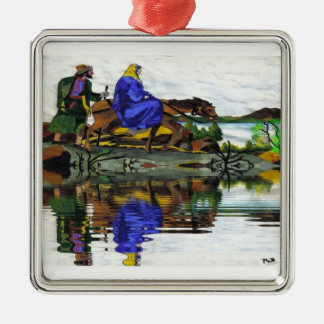 Christmas Collectors Mary and Joseph Ornament