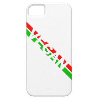 Christmas Colored Vegan Stripes iPhone SE/5/5s Case