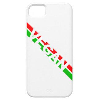 Christmas Colored Vegan Stripes iPhone SE/5/5s Case