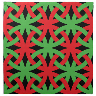 Christmas Colors Dinner Napkin