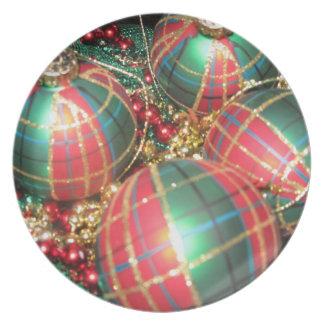 Christmas Colors Plate