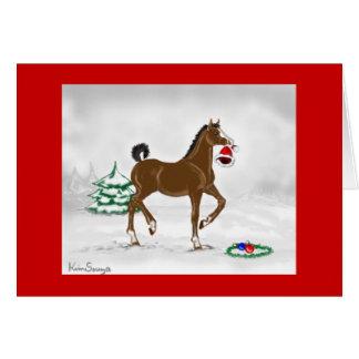 Christmas Colt Card