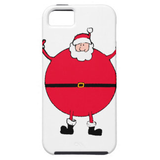 Christmas Concept: Santa arms wide open happly iPhone 5 Covers