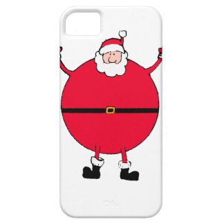 Christmas Concept: Santa arms wide open happly iPhone 5 Cases
