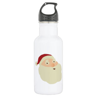 Christmas Concept: Santa's Merry Christmas Wish wi Stainless Steel Water Bottle