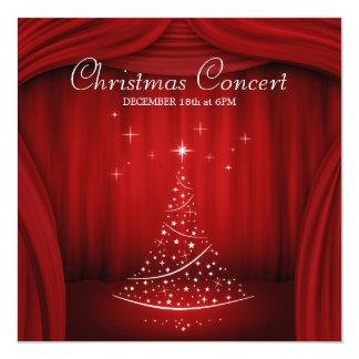 Christmas Concert invitation