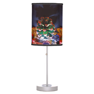 CHRISTMAS CONE TABLE LAMP