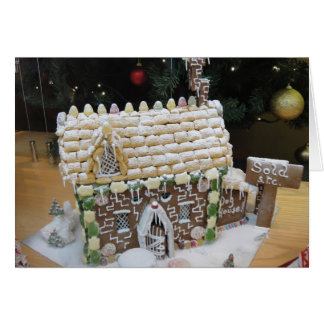 Christmas confectionery card