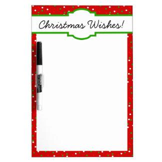 Christmas Confetti •  Red Hot Cinnamon Sprinkles Dry-Erase Board