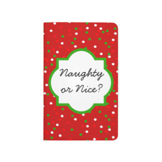 Christmas Confetti •   Red Hot Cinnamon Sprinkles Journal