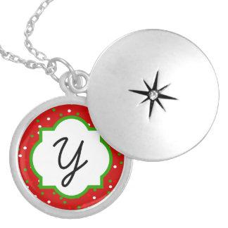 Christmas Confetti •  Red Hot Cinnamon Sprinkles Pendants