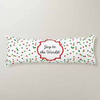 Christmas Confetti •   Royal Icing Sprinkles Body Pillow