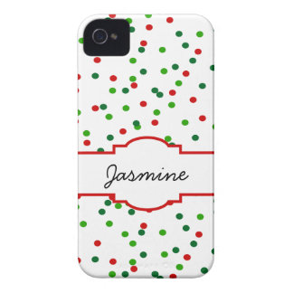 Christmas Confetti •   Royal Icing Sprinkles Case-Mate iPhone 4 Case