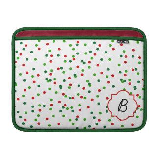 Christmas Confetti • Royal Icing Sprinkles MacBook Sleeve
