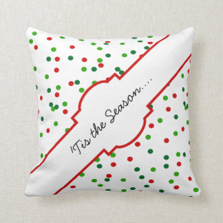 Christmas Confetti • Royal Icing Sprinkles Pillows