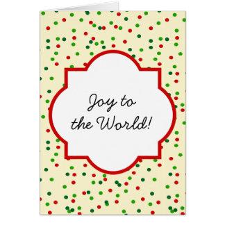 Christmas Confetti • Sugar Cookie Sprinkles Cards