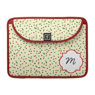 Christmas Confetti • Sugar Cookie Sprinkles Sleeve For MacBooks
