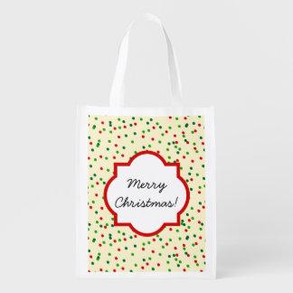 Christmas Confetti • Sugar Cookie Sprinkles Market Tote