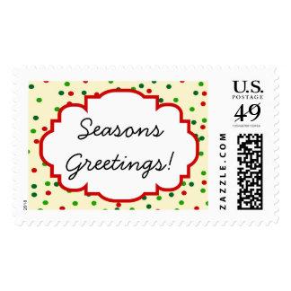 Christmas Confetti • Sugar Cookie Sprinkles Postage