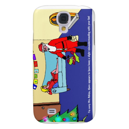 Christmas Confusion Samsung Galaxy S4 Cover