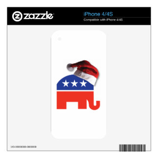 Christmas Conservative iPhone 4 Decal