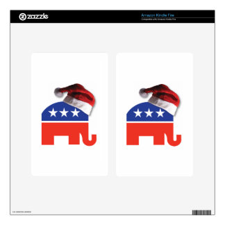 Christmas Conservative Kindle Fire Decal