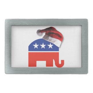 Christmas Conservative Rectangular Belt Buckle