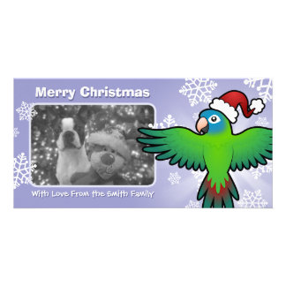 Christmas Conure / Lorikeet / Parrot Card