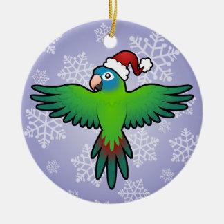 Christmas Conure / Lorikeet / Parrot Ceramic Ornament