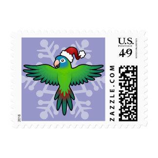 Christmas Conure / Lorikeet / Parrot Postage Stamp