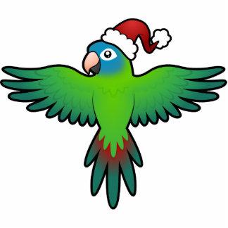 Christmas Conure / Lorikeet / Parrot Statuette
