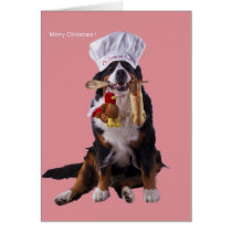 Christmas cook available card