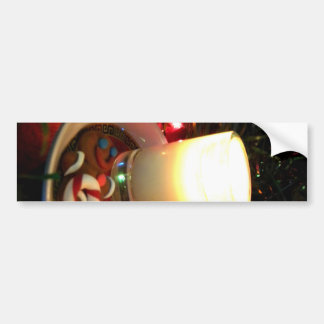 Christmas Cookie Candle I Bumper Sticker